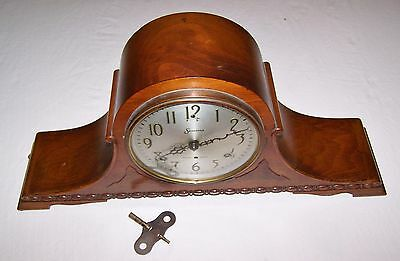 Antique Mantel Clock With Chimes