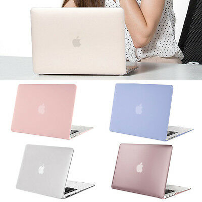 """Laptop Lid Rubberized Case Keyboard Cover for Macbook Air Pro 11""""13""""15"""" Retina"""