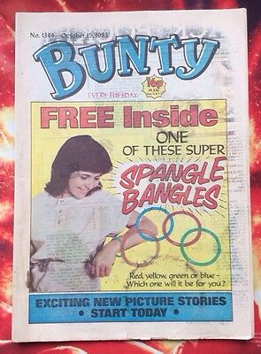 BUNTY COMIC. NO. 1344. 15 October 1983.UNREAD/UNSOLD NEWSAGENTS STOCK. FN