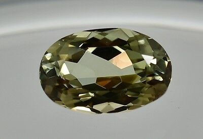 2.45 Ct RARE Zultanite Natural Color-Change Loose Gem 10x6.5mm Cert of Auth 147