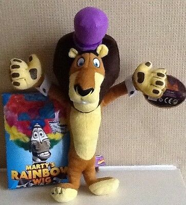 ALEX THE LION soft Toy figure from MADAGASCAR