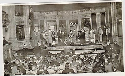 Netherlands Amsterdam Grand Theater Interior Large Size 6X4 Bw Ppc Unposted
