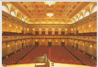Netherlands Amsterdam Concertgebouw Theater Interior Large Size 6X4 Col Ppc 2