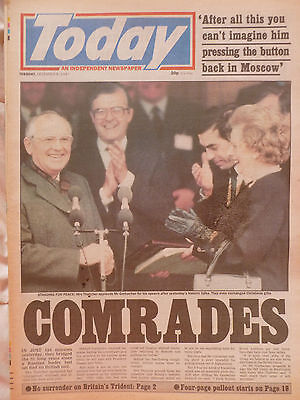 1987 & 91 - Today - Gorbachev in Britain & Gorbachev Survives Coup Attempt
