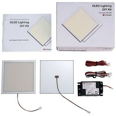 LG Display Dual OLED Development Kit Warm White 2700K AC Input 150lm