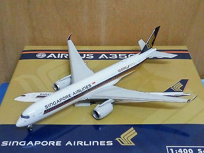 1/400 PHOENIX SINGAPORE AIRLINES A350-900 9V-SMF 10000th AIRBUS AIRCRAFT