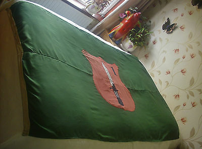 Issued British Army 1st Infantry Battalion Barrack Flag (Vintage)
