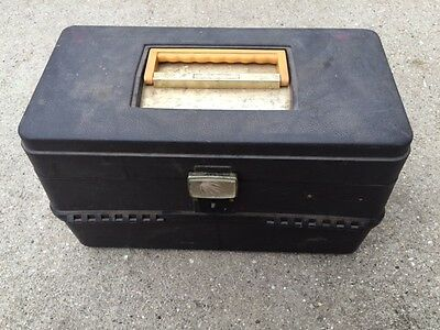 Vintage Tackle Box Ted Williams Fishing Gear Vintage Fishing Tackle Box