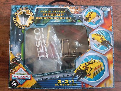 Ultra Rare collectable BBC Robot Wars PANIC ATTACK PITSTOP KIT SET  BOXED!!!!!