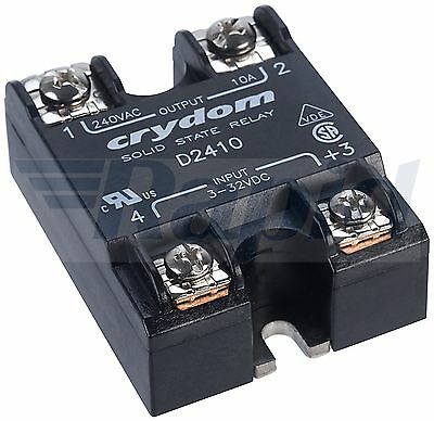 Crydom D2410 Solid State Relay 10A 3-32VDC