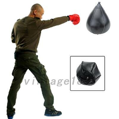 1PCS Boxing Speed Bag Boxing Fitness Speedbag Speedball Black High Quality