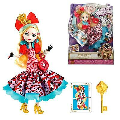 Ever After High Puppe - Auf ins Wunderland Apple White