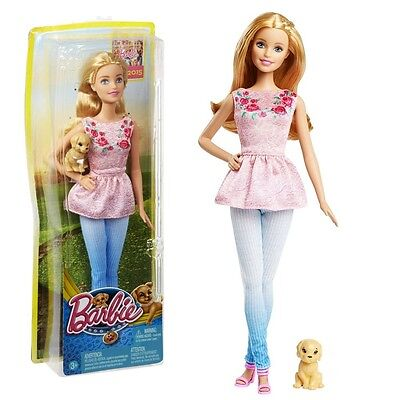 Barbie - Family Doll Barbie with Dog - The Great Puppy Adventure
