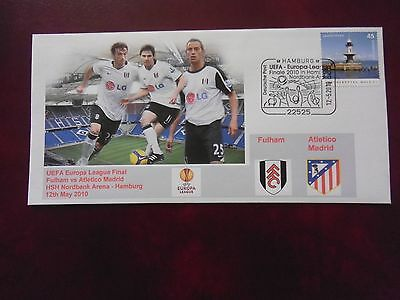 Fulham V Atletico Madrid Uefa Cup Final 2010 First Day Cover