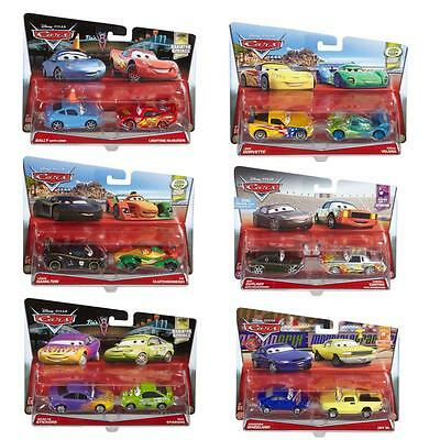 Disney Cars Cast 1:55 - Selection Cars Vehicles Models Double Pack
