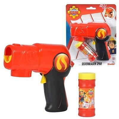 Fireman Sam - Bubble Gun with Automatic Function