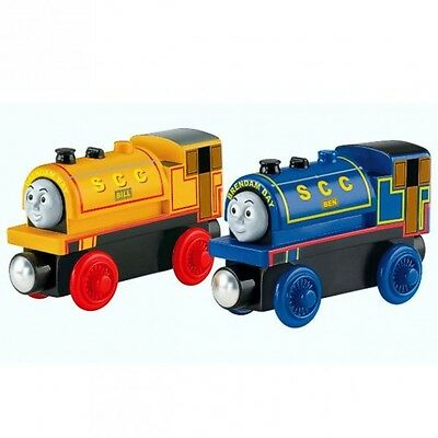 Thomas and Friends - Bill & Ben Locomotive - Wooden Railway Mattel