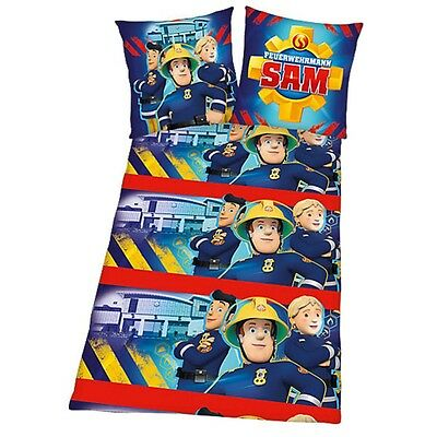 Fireman Sam - Kids Reversible Duvet Set Flannel 80/80 x 135/200cm