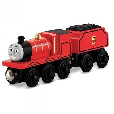 Thomas and Friends - James Locomotive - Wooden Railway Mattel