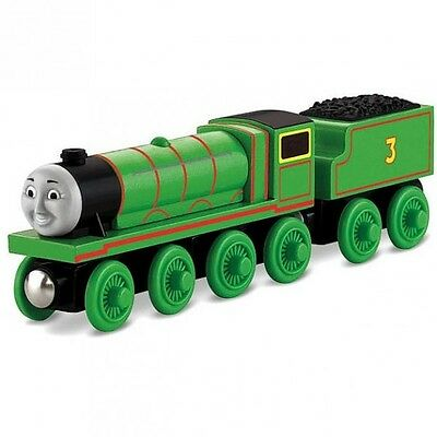 Thomas and Friends - Henry Locomotive - Wooden Railway Mattel