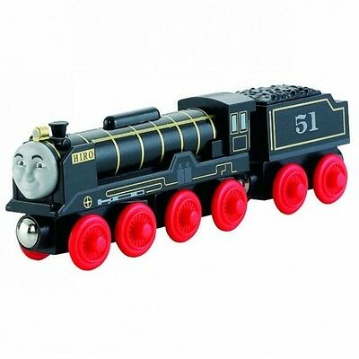 Thomas and Friends - Hiro Locomotive - Wooden Railway Mattel