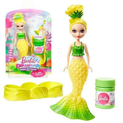 Barbie - Dreamtopia - Set Junior Soap Bubbles Mermaid - Doll yellow