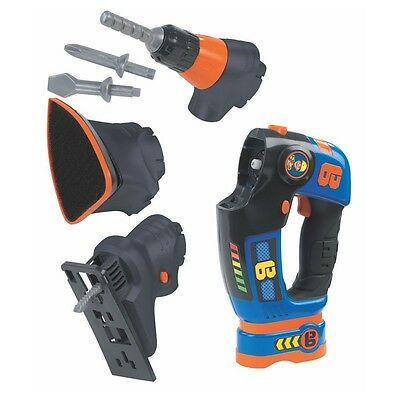 Bob the Builder - Tool Set 3 Parts - Grinder, Electric Screwdriver, Jigsaw