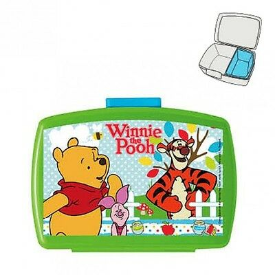Winnie the Pooh - Snack Box Container Lunchbox 17.5 x 12 x 7.0 cm