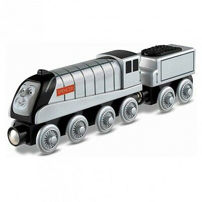 Thomas ei suoi Amici - Spencer Locomotiva - Ferrovia in Legno - Mattel Thomas an