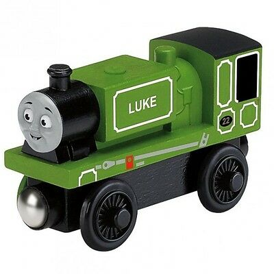 Thomas ei suoi Amici - Luke Locomotiva - Ferrovia in Legno - Mattel Thomas and F