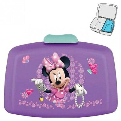 Disney Minnie Mouse - Caja Merienda Rectangular 17,5 x 12 x 7,0 cm