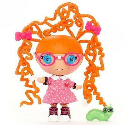 Lalaloopsy Littles - Silly Hair - Specs Reads-a-Lot - Muñeca y juego de accesori