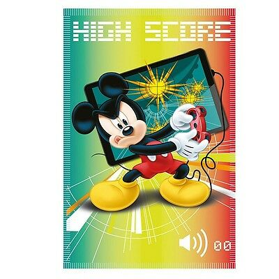 Disney Mickey Mouse - Manta Polar - High Score - 100 x 140 cm