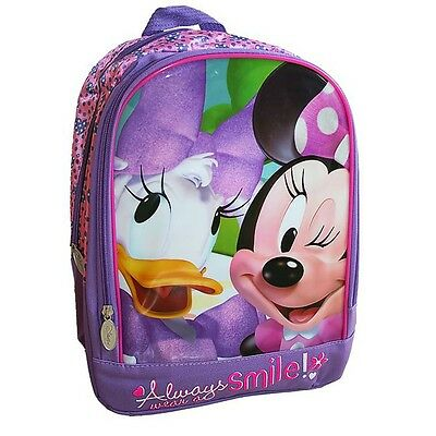 Disney Minnie Mouse - Niños Mochila - Minnie & Daisy Duck 33 x 28 x 13 cm
