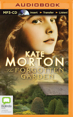 The Forgotten Garden by Kate Morton (2014, MP3 CD, Unabridged)