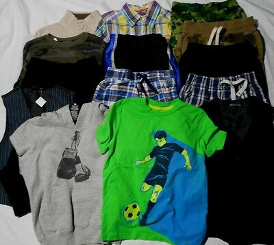Large Lot Boys size 4-5 4 5 Clothes Clothing Tops Bottoms Pants