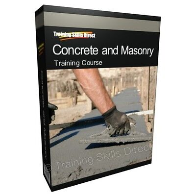 Concrete Brick Laying Bricklayer Worker Training Book Course