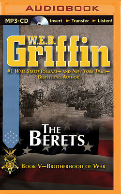Brotherhood of War: The Berets 5 by W. E. B. Griffin (2014, MP3 CD, Unabridged)