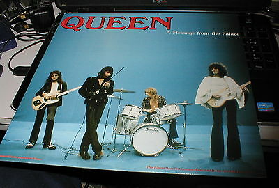 Queen A Message From The Palace, Very Rare Dark Blue Coloured Vinyl Lp