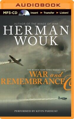 Winds of War: War and Remembrance 2 by Herman Wouk (2014, MP3 CD, Unabridged)