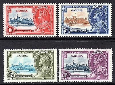 Gambia KGV 1935 Silver Jubilee Set SG143-46 LM/Mint
