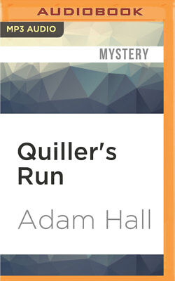 Quiller: Quiller's Run 12 by Adam Hall (2016, MP3 CD, Unabridged)