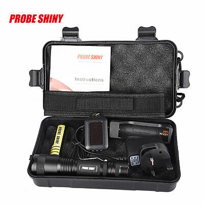 X800 Shadowhawk Tactical 5000LM Zoomable XML T6 LED Flashlight +18650 Battery UK