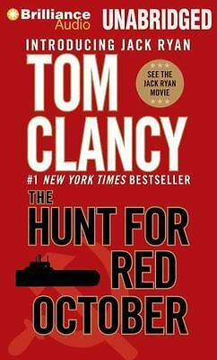 The Hunt for Red October by Tom Clancy (2014, MP3 CD, Unabridged)