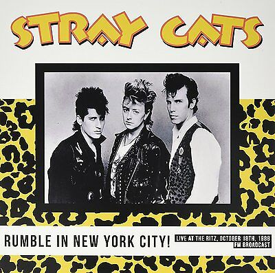 LP Stray cats  rumble in new york live   new & sealed