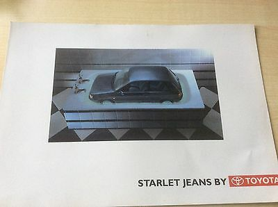 TOYOTA  STARLET JEANS  SPECIAL EDITION  SALES BROCHURE  1994  #ToySt01