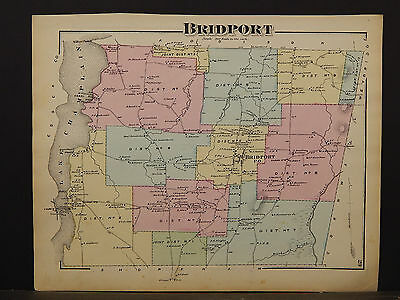 Vermont, Addison County Map, 1871, Bridport Township, Y4#81