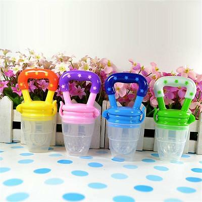Food Nipple Baby Infant Fruit Soft Safe Feeder Silicone Pacifier Feeding Tool WQ