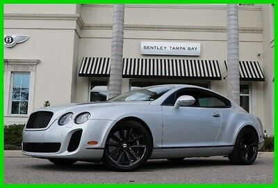 2010 Bentley Continental GT Supersports Coupe 2-Door 2010 Used Certified Turbo 6L W12 48V Automatic AWD Premium
