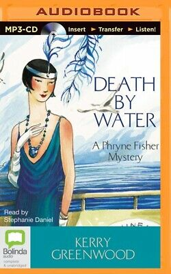 Death by Water by Kerry Greenwood (2014, MP3 CD, Unabridged)